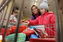 Národní potravinová sbírka v litoměřickém Penny marketu