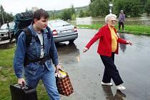 Povodeň 2002: Křešice 13. srpen