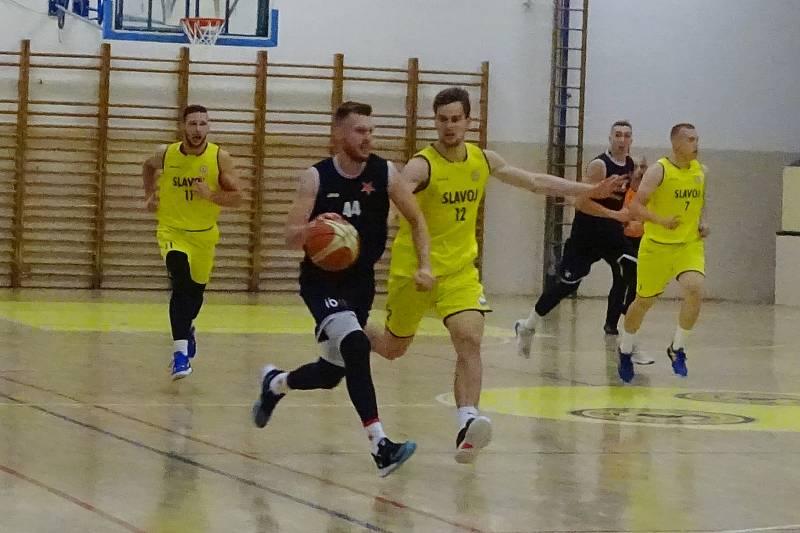 Slavoj BK Litoměřice - Slavia Praha, basketbal I. liga 2020/2021