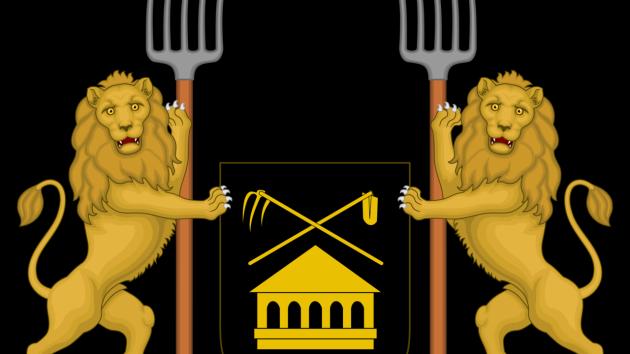 Znak Vidlákovy republiky.