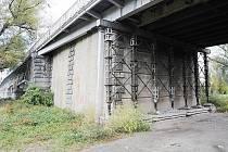 Tyršův most v Litoměřicích.