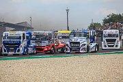 Trucky se poprvé v historii představily na Slovensku. V akci byli i Adam Lacko a David Vršecký z Buggyry.