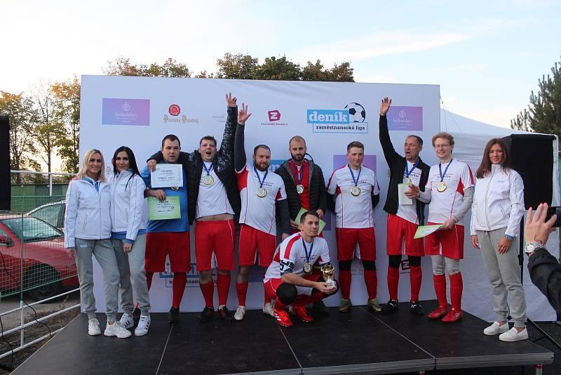 Vítězný tým Schoeller Křešice