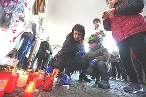 Vzpomínání na 17. listopad v Litoměřicích.