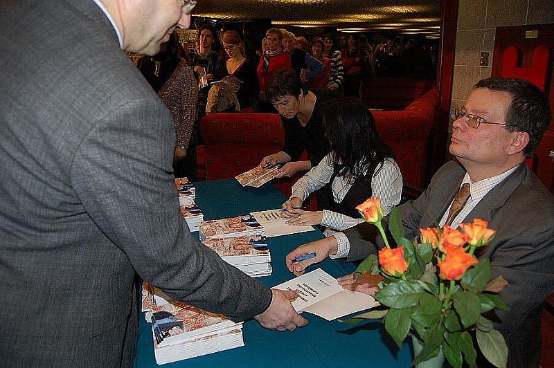Autogramiáda Alexandra Vondry.