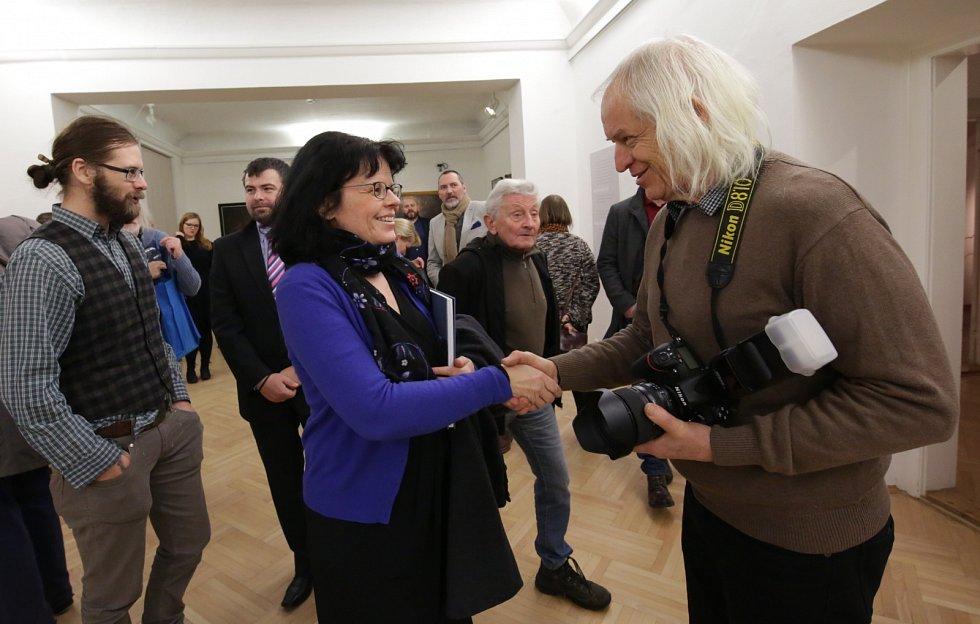 Vernisáž tří výstav v Severočeské galerii v Litoměřicích