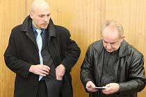 Soud v Litoměřicích, úterý 1. března 2011.