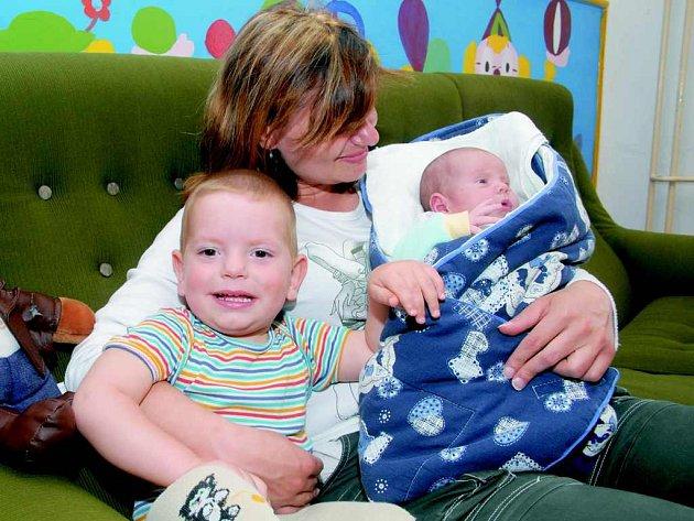 V Domově pro matky s dětmi v Litoměřicích našla azyl například paní Eva s dětmi