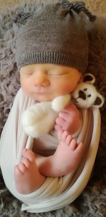 Miroslav Valášek se narodil Andree Pekárkové a Miroslavu Valáškovi 14.12.2018 v 15.17 hodin v Litoměřicích (49 cm a 2,79 kg).