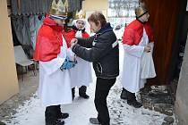 Diecézní charita Litoměřice již rozpečetila všechny tříkrálové pokladničky a výtěžek je rekordní. Vykoledovala krásných 2 349 405,00 Kč.