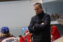 Trenér Litoměřic Daniel Tvrzník