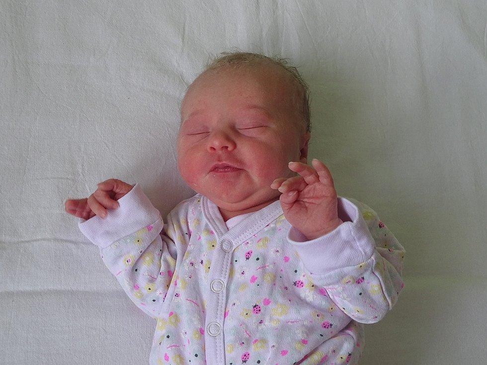 Michaela Pohlová se narodila Veronice Jůzové a Lukáši Pohlovi z Litoměřic 5. června v 19.30 hodin v Litoměřicích (48 cm a 2,54 kg).