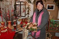 Simona Břečková, majitelka květinářské a aranžerské firmy ANETTE Klapý v Libochovicích.