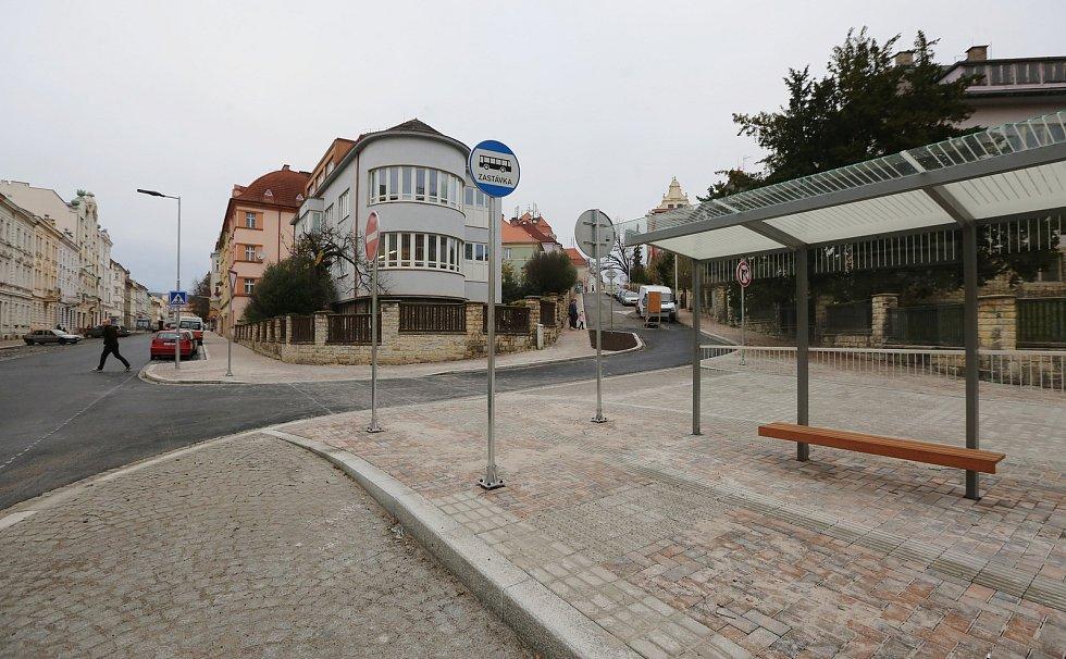 Rekonstrukce Palachovy ulice je téměř hotová.