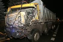 Vážná nehoda ve Velemíně