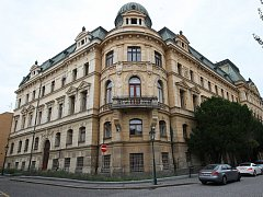 Budova bývalého velitelství v Litoměřicích
