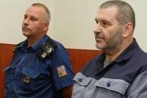 Alexandr Novák u litoměřického soudu.