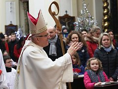 Mši svatou pro rodiny celebroval litoměřický biskup Jan Baxant