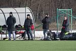 Zimní příprava 2019: Brozany - Slavia Praha jun.