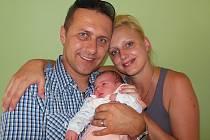 Markétě a Martinu Sedláčkovým z Pohořan se 7.8. v 6.24 hodin  narodila v Litoměřicích dcera Valerie Sedláčková (48 cm, 3,3 kg)