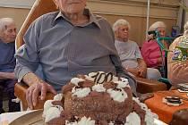 Karel Kubát oslavil 100. narozeniny.