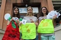 Studentky Klára Miškovská, Tereza Prinzová a Andrea Kvasničková vytvořily logo a propagační materiály pro záchranou stanici Falco v Dolným Týnci.