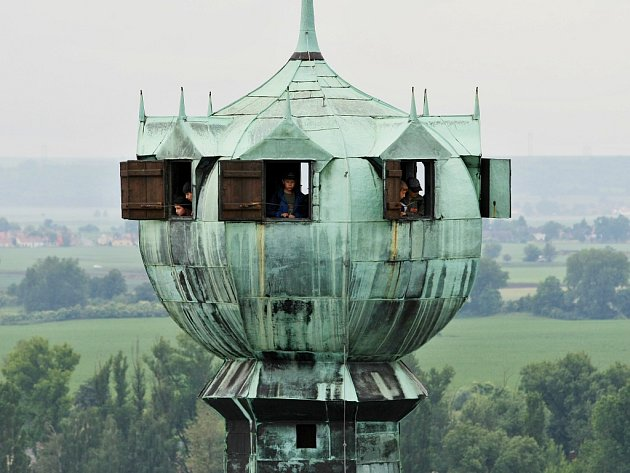 Vyhlídková věž Kalich na Mírovém náměstí vLitoměřicích