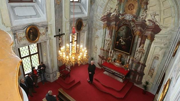 Zrekonstuovaná kaple