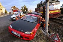 Nehoda v Žalhosticích.