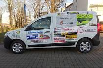 Zcela nový vůz značky Dacia Dokker mohou nyní využívat pracovníci a klienti Diakonie v Krabčicích.