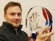 OTISK dlaně Václava Havla zhotovil Jan Huňát už v roce 2009.