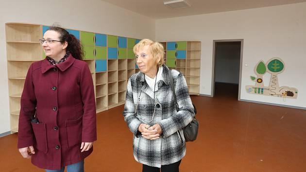 Exkurze v nově postavené školce v Ploskovicích na Litoměřicku.