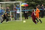 Družstva tří výběrů OFS (a mimo soutěž spojený tým Roudnice / Litoměřicko) bojovala v prvním turnaji meziokresní soutěže v Roudnici.