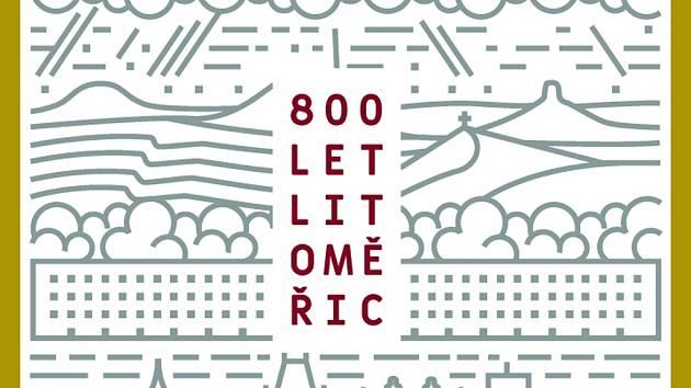 Grafický vizuál oslav 800 let Litoměřic