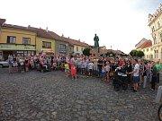 Lidé protestují proti Babišovi 11. června v Roudnici n. L.