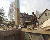 Po povodni v roce 2002...