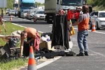 Nehoda kostymérů u Lovosic