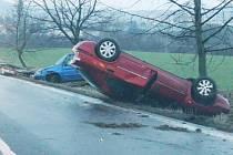 Hromadná nehoda u Trnovan