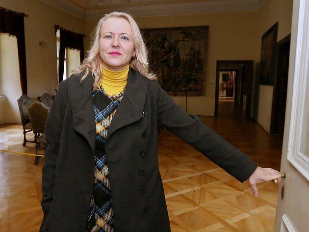 Nová kastelánka Libochovického zámku Michaela Prokopová
