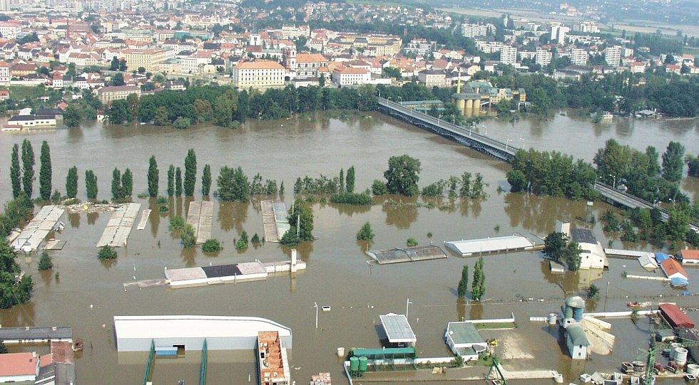 Povodně 2002 - Litoměřice.