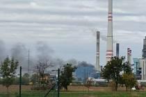 Roudničtí hasiči vyrazili na pomoc do Středočeského kraje do elektrárny v Horních Počaplech.