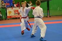 Ondřej Hrdlička (vlevo) v akci.