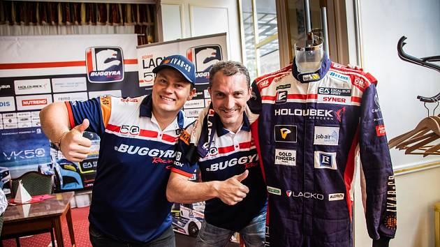 Adam Lacko (vlevo) a David Vršecký.