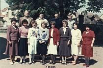 Učitelský sbor Základní školy v Budyni nad Ohří