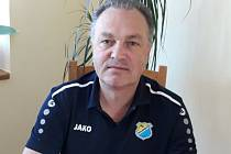 Předseda HC Roudnice nad Labem Vladimír Čichovský.