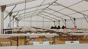 Tak vypadá v račické Labe aréně život dva dny před zahájením mistrovství světa.