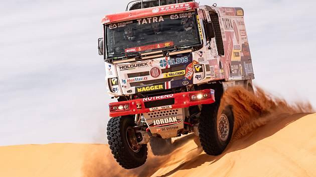 Martin Šoltys z Buggyry během Dakaru.