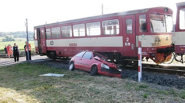 Dopravní nehoda v Chotěšově.