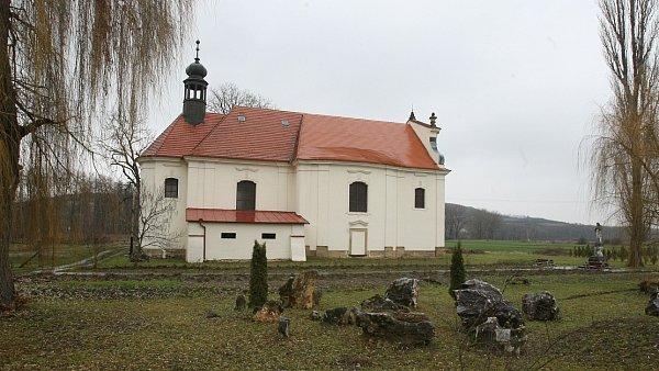 MARIÁNSKÝ kostel vKřešicích