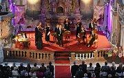 Litoměřické svátky hudby v jezuitském kostele - vystoupení Václav Hudečka